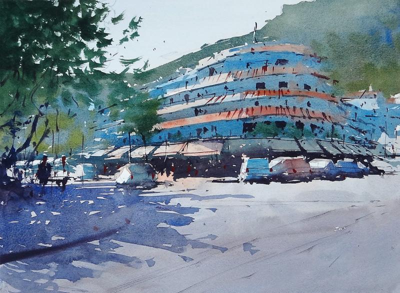 Mijas round building