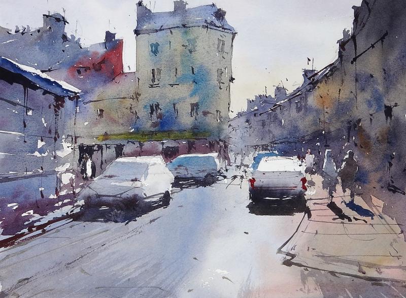 Rue au Ble Cherbourg France