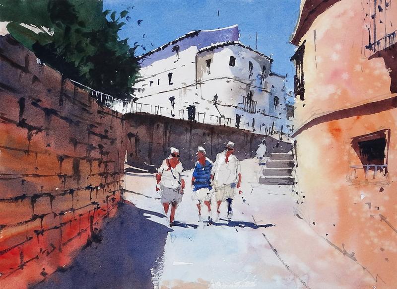 Calle Cuesta de Santo Domingo Ronda Spain