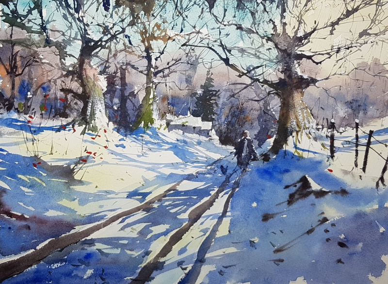 Andy commission old road to sodbury