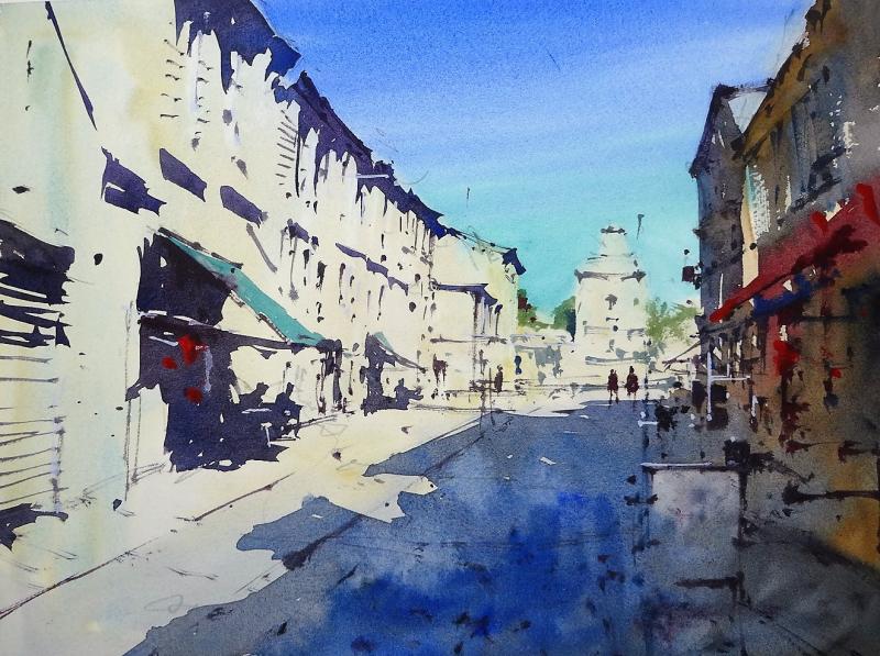 Rue Gambetta Libourne France