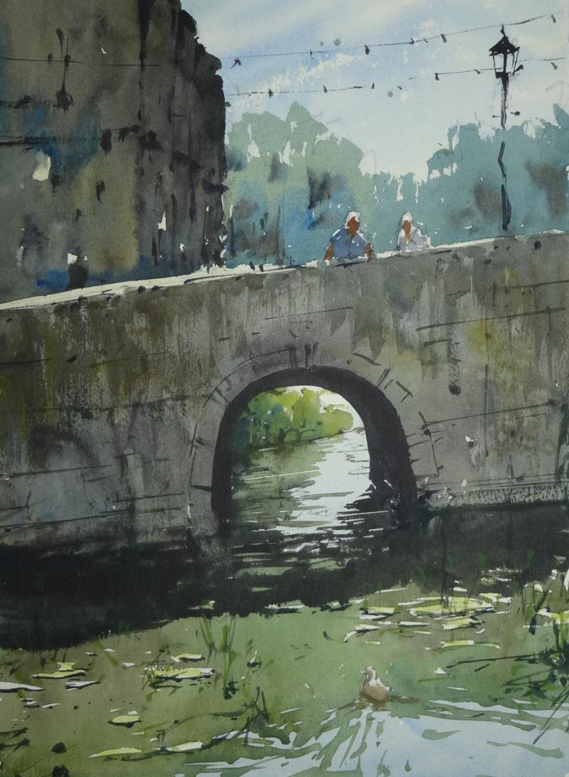 Bridge arch bradford on avon